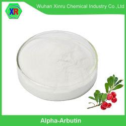 Высокая степень чистоты травяной извлечения косметического сырья Alpha-Arbutin отбеливание кожи