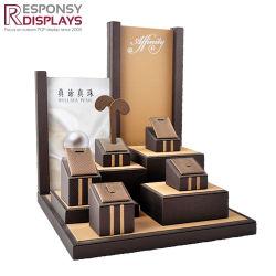 Comptoir en bois sur mesure Boutiques Bijoux Présentoir