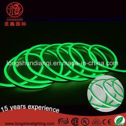 Deux LED de couleur de la corde au néon de la peau Flex Strip Light feux flexible 220V de l'éclairage au néon étanches