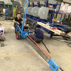 Лесохозяйственное оборудование Log режущая цепь лесопилке поперечной пилы машины