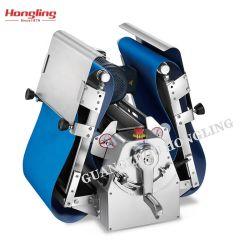 Goede kwaliteit QS-520bt Blue PU Belt Table Top Dough Sheeter