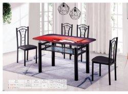طاولة أثاث أثاث غرفة معيشة حديثة طعام معدة مقاعد معدنية فاخرة