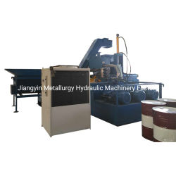 Esfregaço horizontal Contador de metal briquetes de aço Pressione para Reciclagem (fábrica)