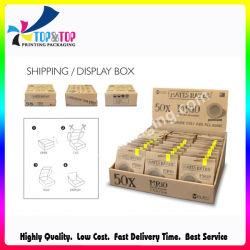 Belas Cores Caixa de Exibição de produtos de cartão personalizado