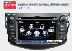Автомобильная аудио плеер для Toyota RAV4 машине цифрового ресивера