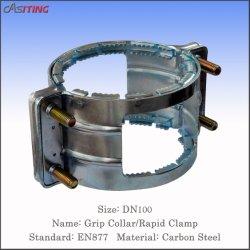DN75 EN877 Carbon Steel Grip kraag