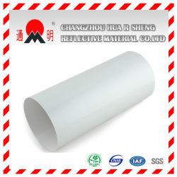 Blanc en vinyle de feuille réfléchissante qualité ingénierie pour le trafic routier des signes de signes d'avertissement (TM7600)