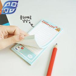 Después Nota adhesiva de papel de color de relleno de Napa Cubo Memo