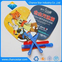 Impresos personalizados de plástico personalizada PP Abanicos para niños