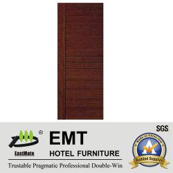 Intérieur moderne en bois massif porte de la salle de l'hôtel (EMT-HD06)