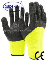 De Handschoenen van het Protective Latex Werk van de Kreuk van Terry Loops Labor/de Handschoenen van de Veiligheid