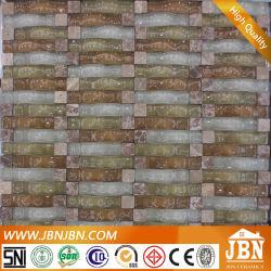 Tira de arco mosaico de vidrio y piedra para la Decoración de pared (M855097)