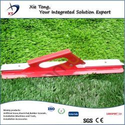 Футбольное поле искусственных травяных режущей машины для установки