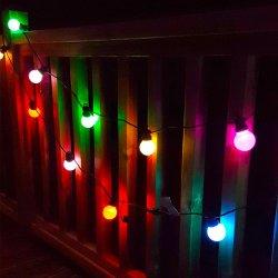 Jardín de luz LED de parte de la cadena embellecedor