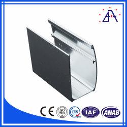 La brillance de bonne qualité de cadre de porte de douche en aluminium anodisé