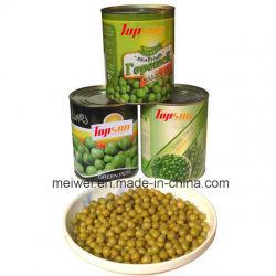 Heiße verkaufenin büchsen konservierte frische grüne Erbsen