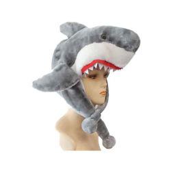 Cappello della calza della peluche dello squalo dell'animale di mare