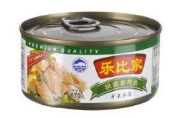 Hot la vente de thon en conserve du poisson dans la saumure