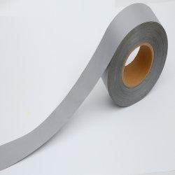 Polyester haute visibilité réfléchissants matériau de bandes de tissu d'avertissement pour la sécurité