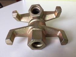 Transtypé Ductile Iron écrou à ailettes pour échafaudages