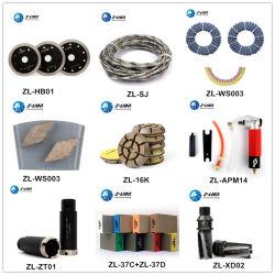 콘크리트 스톤 그래니트를 위한 Z-Lion 다이아몬드 연마기/Polisher/기계 핸드 하드웨어 도구 유리 자동 건물 산업 절단 연마 천공