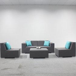 Sofás tapizados en tela de muebles de exterior para el Hotel Comercio al por mayor de muebles de patio