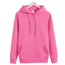 Черный Hoodies свитеры 100% хлопок для мужчин и женщин
