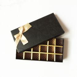 Luxuxschokoladen-Dekoration-Papier-Geschenk-Verpackungs-Kasten
