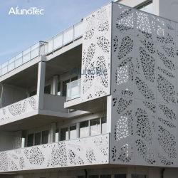 En el exterior de metal decorativo exterior fachada Revestimiento de pared de chapa de aluminio para la edificación residencial