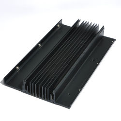 Hueco de aluminio anodizado de disipador de calor