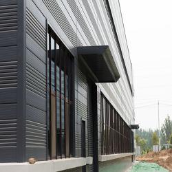 Structure en acier de l'entrepôt industriel Feed Mill Construction de la fabrication de structures en acier
