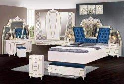 Klassisches Bett für Schlafzimmer-Möbel-Set und Hauptmöbel (a)