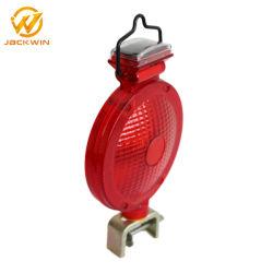 Solar-LED-Warnleuchte/Lampe mit Metallhalter-Halter