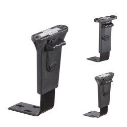 Büro-Stuhl-Teil-und Element-justierbare Armlehne mit Metallhalter