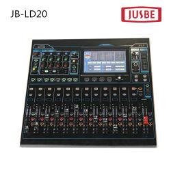 Professional Audio & Video 20 Channal mélangeur audio numérique de haute qualité Jb-Dl20