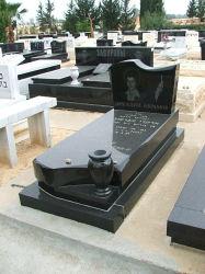 Natuursteen Zwart graniet Tombstone SF-T-017 voor Cremetery Garden