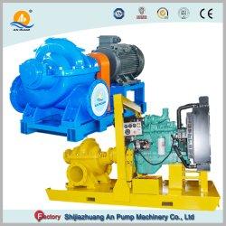 디젤 엔진 휴대용 관개 원심 바닷물 펌프 고정되는 수족관 펌프