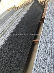 Granit gris foncé/Nouveau G654/poli flammé/perfectionné pour les carreaux de dalles de granit/comptoir/vanité haut/Plan de travail
