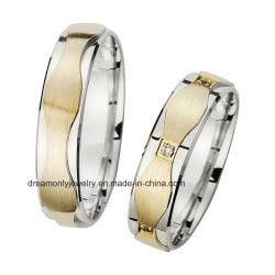 Jóias de anel de diamantes Custume Anel de casamento