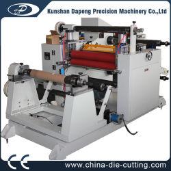 PVC Pet BOPP OPP PE Film Papier machine à refendre