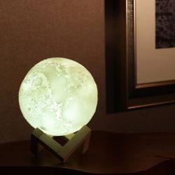 قمر مصباح [موون ليغت] ليل يسخّن ضوء لأنّ جديات هبة لأنّ نساء [أوسب] يحمّل ولمس تحكّم سطوع [3د] يطبع ويبرّد مصباح بيضاء قمريّ