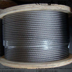 Câble en acier inoxydable 304/316 Aéronefs Wire Rope 7 X 19