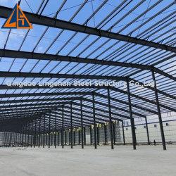 Plan de diseño de espacio libre Taller de la estructura de acero prefabricados