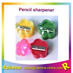 Corazón barato de plástico para la escuela del afilador de lápiz