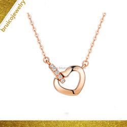 В форме сердца CZ украшения Fashion Silver золотых ювелирных изделий, подвесная цепочка с алмазной