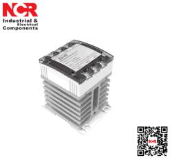 10A SSR - Geïntegreerde Heatsink met Op rails gemonteerd DIN (cag6-3)