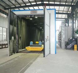 Jet de sable salle Armoire/jet de sable pour l'industrie de traitement de surface