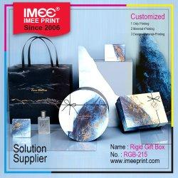Imee Imprimir personalizado de Papelão Ondulado Papel Casamento rígida embalagem de luxo jóias de Embalagem Caixa de oferta
