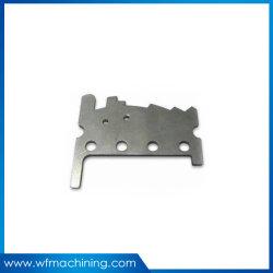 Latón estampado en la hoja de metal OEM /redonda de aluminio de corte por láser de la pieza de perforación