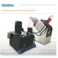 Hydraulische Papierwegwerfplatte, die Maschine bildet